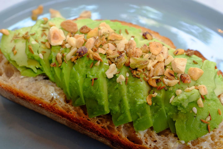 lunch met een lekkere avocadotoast
